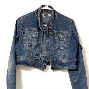Super Cute Cropped Jean Jacket!!
